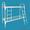 Кровати металлические одноярусные, кровати металлические с ДСП спинками, дёшево - Изображение #2, Объявление #1479372