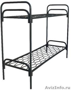 кровати металлические для пансионата, кровати армейские, кровати для лагеря - Изображение #4, Объявление #900101