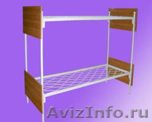 кровати металлические для пансионата, кровати армейские, кровати для лагеря - Изображение #3, Объявление #900101