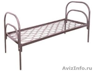 кровати металлические для пансионата, кровати армейские, кровати для лагеря - Изображение #5, Объявление #900101