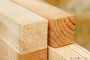 Брусок деревянный 40/40 мм, 40/50 мм, 50/50 мм из сосны - Изображение #1, Объявление #1218027