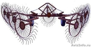 Грабли ворошилки валковые ГВВ - 6.1 (со средним колесом) - Изображение #1, Объявление #1636051