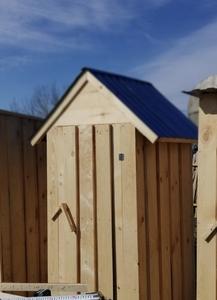 Деревянный туалет для дома и дачи - Изображение #1, Объявление #1218020