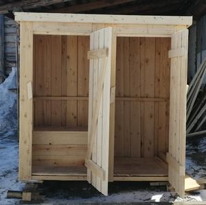 Туалетная кабинка с хозблоком - Изображение #1, Объявление #1679262