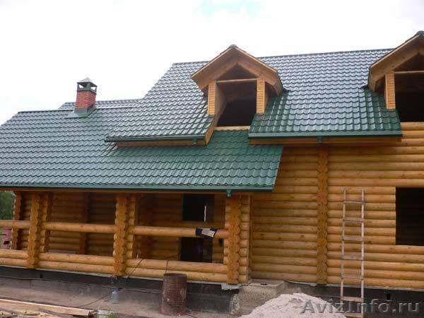 Готовый дом из кедра 77