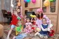 Проведение детских дней рождения и утренников