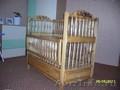 Продам детскую деревянную кроватку ручной работы