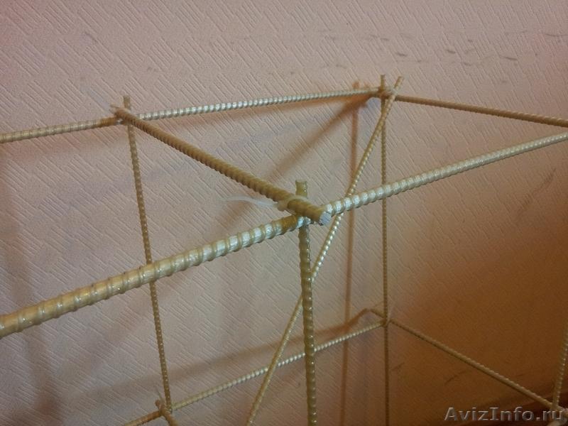 Как вязать арматуру для фундамента из стекловолокна