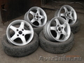 литые диски R14 4*108 4шт. шины nokian 17565R14