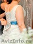 родам шикарное свадебное платье 50-54размера.