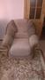 Угловой диван совместно с креслом обивка флок