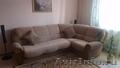 Угловой диван совместно с креслом обивка флок, Объявление #1128365