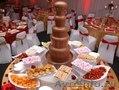 Шоколадный фонтан и фонтан для напитков на Свадьбу