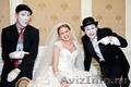 Мимы,  ходулисты на свадьбу