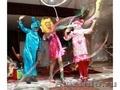 Шоу гигантских мыльных пузырей на Выпускной Вечер
