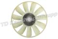 Вентилятор с вязкостной муфтой в сб.КАМАЗ-6520 дв.Cummins ISLe400 d750 мм